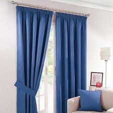 Royal Blue Blackout Curtains Best 25 Blue Pencil Pleat Curtains Ideas On Pinterest White