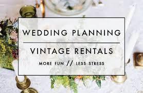 wedding rentals chicago chicago wedding planner chicago vintage rentals furniture