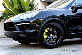 Porsche Cayenne With Rims - photos with the 21