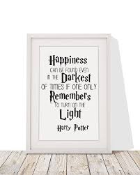 wedding quotes harry potter harry potter inspired quote happiness can be found in