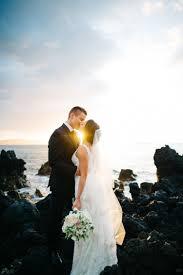 a gorgeous white orchid beach house wedding in maui destination