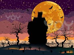 halloween scary house hd halloween wallpaper picture