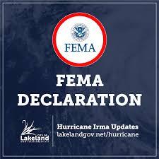 fema notice of major disaster declaration fema registration