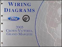 2005 crown victoria u0026 grand marquis repair shop manual original