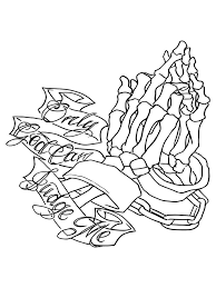 only god can judge me praying window decal stricker