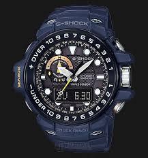 Jam Tangan G Shock Pertama casio g shock gulfmaster gwn 1000nv 2ajf blue resin band jdm