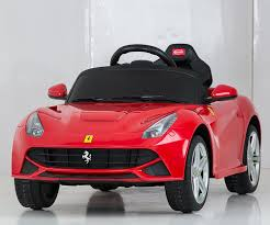 ferrari f12 back amazon com vroom rider ferrari f12 rastar 6v battery operated