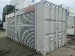 20ft x 8ft shipping container with roller shutter doors uk wide