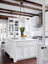 Rustic Kitchen Cabinets Pictures Inspiring Off White Rustic Kitchen Cabinets Pics Design