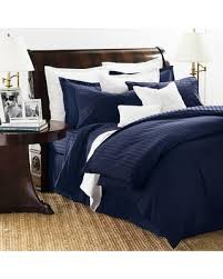 Blue Striped Comforter Set Bargains On Chaps Damask Stripe 500 Thread Count Comforter Set