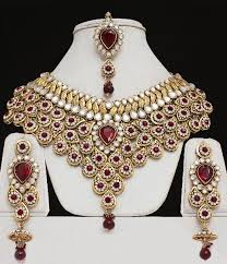 bridal indian necklace set images Bridal necklace set manufacturer in kolkata west bengal india by jpeg