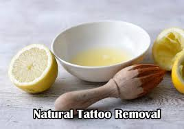 natural tattoo removal tattoo removal