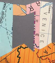 Off The Map Off The Map Ii 10 Collage Paper Maps
