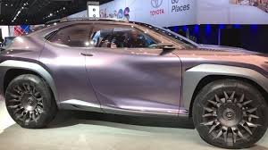 lexus ux model lexus ux concept youtube