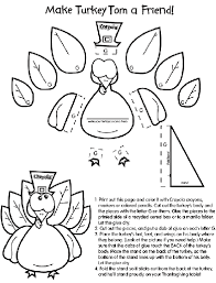 turkey craft thanksgiving coloring pages crafts jpg