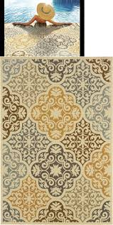 5x8 Outdoor Patio Rug Other Rugs And Carpets 8409 5x8 5 3 X 7 6 Modern Contemporary