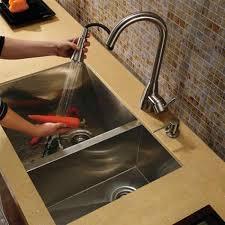 30 Kitchen Sinks by Vigo Vg2920bl 16 Gauge Stainless Steel Undermount 70 30 Double