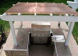 various types of great outdoor kitchen roof ideas home design ideas