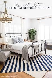 master bedroom decor ideas blue and white bedroom ideas for summer maison de pax