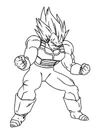 100 ideas dragon ball coloring pages goku super saiyan
