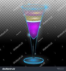 purple martini clip art purple layered exotic cocktail tall glass stock vector 598162538