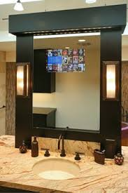 tv in the mirror bathroom tv mirror bathroom mirror tv frame dielectric tv mirror after
