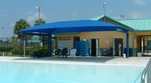 Deck Canopy Awning Fabric Awning For Pool Deck Peoria Awning Co