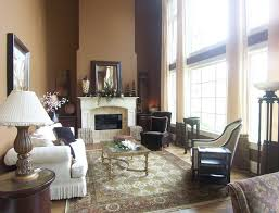 two story living room two story window treatment traditional living room other by