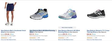 amazon black friday deals on asics shoes deal of the day new balance fitness shoes u0026 apparel running