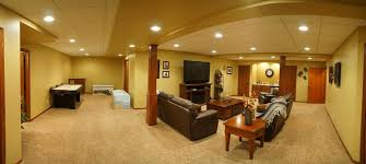 finished basement pictures rental house and basement ideas