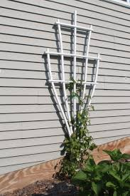 vinyl trellis from ranch life plastics rose and window pane trellis