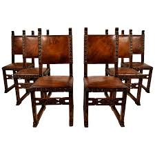 Spanish Dining Room Furniture This Set Of Six Spanish Revival Dining Room Chair Is No Longer