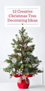 Christmas Tree Decorating Ideas 12 Creative Christmas Tree Decorating Ideas Hallmark Ideas