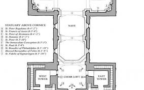 latin cross floor plan the ground plan of san xavier del bac in tucson is in the shape of a
