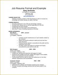 Nursing Job Resume Format by Examples Of Resumes 2 Page Resume Format Best One Template