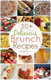 Baby Shower Brunch Ideas - delicious brunch recipes