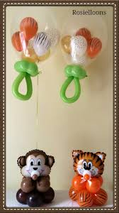 sweet balloon decorations for a baby shower baby shower balloon
