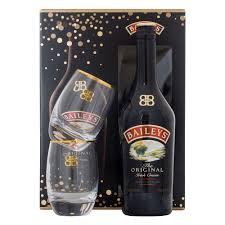 baileys gift set baileys original liqueur 70cl gift set drinksupermarket