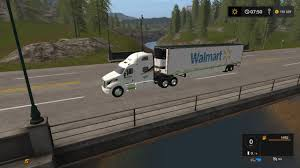 Seeking Trailer Fr Walmart Peterbilt And Trailer V1 0 0 0 For Fs 17 Farming