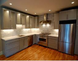Wooden Cabinets For Kitchen Architecture Grey Wood Cabinets Telano Info
