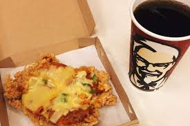 now kfc is using fried chicken as a pizza crust
