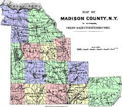 Madison Map Madison County New York Map New York Map