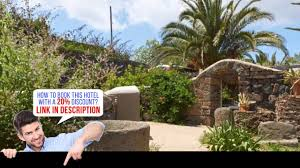 dammusi bugeber pantelleria italia video review youtube
