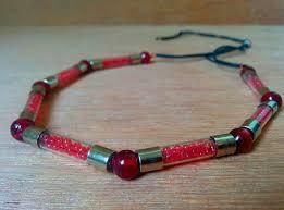 bead bracelet make necklace images Make a necklace using electrical fuse jpg