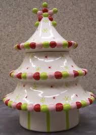 christmas tree cookie jar christmas lights decoration