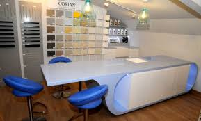 Corian Stone Corian Island In Mayflower Stone Studio Kitchens Products Cduk
