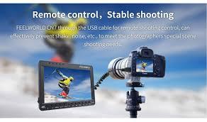 feelworld cn7 7 inch 4k hdmi monitor canon dslr focus control ips