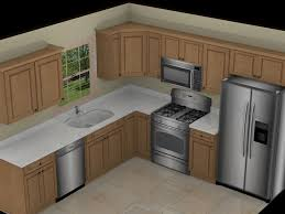 kitchen awesome l shape white marble 3d kitchen planner with