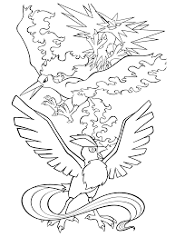 articuno pokemon coloring pages getcoloringpages