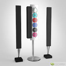 bang and olufsen home theater bang olufsen audio system 3d model cgtrader
